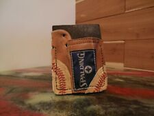 Leather Baseball Glove Wallet Spalding, Rawlings