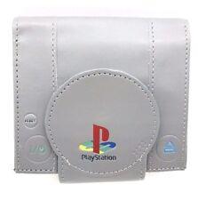 Sony Playstation One PS1 Console Bi-Fold Wallet Grey