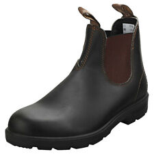 Blundstone 500 Mens Stout Brown Chelsea Boots - 9 UK