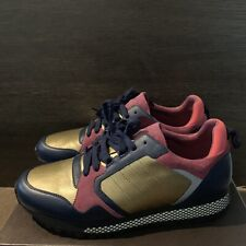 Authentic GUCCI Gold-Purple Trainers/Sneakers