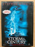 Storm Of The Century DVD 1999 Stephen King Horror Mini Serie Región 1 Liberación