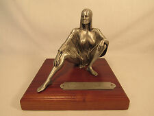 """Bo Derek Metal Pewter Statue On Wood Base Numbered #28 From The 1979 Movie """"10"""""""