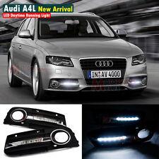 New LED Daytime Running Light For Audi A4 A4L B8 4D Sedan Fog DRL 2009 2010 2011