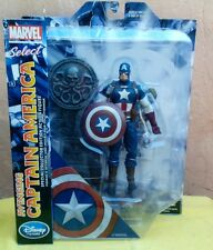 Marvel Select, Captain America, Black Widow, lot of 2.