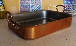 Copper Roasting Pan. MAUVIEL. FRANCE