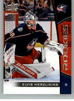 2019-20 Upper Deck NHL Rookie Box Set #16 Elvis Merzlikins Columbus Blue Jackets