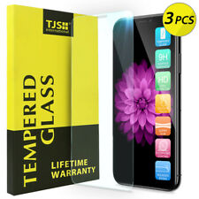 TJS [3-Pack] For Apple iPhone XR Tempered Glass Screen Protector Guard
