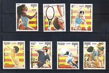 Cambodia # 1137-43  1992 Barcelona Olympics  MNH Superb $5.75