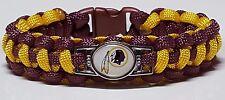 Washington Redskins Burgundy & Gold Paracord Bracelet or Lanyard or Key Chain #3