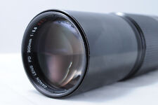 【AS IS】 Canon FD 300mm f/5.6 S.S.C Manual Telephoto From Japan