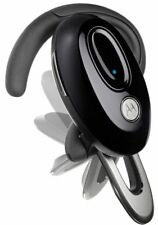 Motorola H720 Bluetooth Headset Noise Reduction Cell Phone Ear-Clip 89382N Black