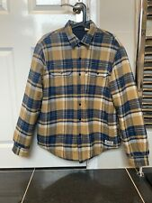 Levi's Jacket - Reversible Flannel / Quilted - Size Medium