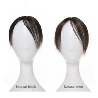 Hand made mono 100% Human Hair Topper Hairpiece Toupee Top Piece For Women