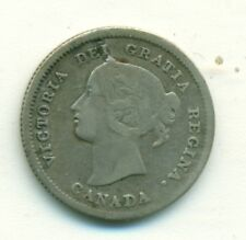 Canada 5 cents 1872H Fine