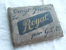 ROYAT gso - photo N&B ~1950  touristique souvenir