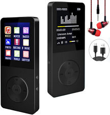 New listing Mp3 Player Hi-Fi Sound Fm Radio Expandable Up to 64Gb Bundled w/ Earbuds