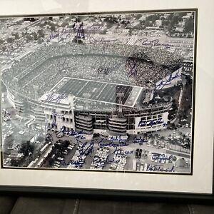 1969 Ny Jets Superbowl Signed 16x20 Steiner