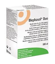 Blephasol Duo Eye Hygiene Lotion | (100ml + 100 Pads)