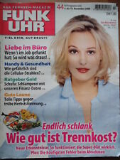 FUNK UHR 44 - 2000 * TV: 4.-10.11. Eva Hassmann (Tatort) Günther Jauch