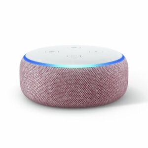 Amazon Echo Dot (3rd Generation) Smart Assistant, Smart Speaker, Plum