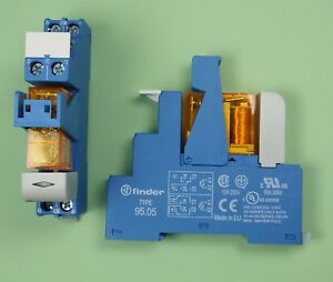 48.61.8.230.0060 - Finder Industrie Koppel Relais 230V AC 1 Wechsler 16A