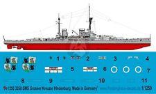 Peddinghaus 1/1250 SMS Hindenburg German Battlecruiser WWI Markings [Decal] 3268