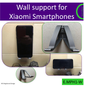 Wall mount for Xiaomi Smartphone. Made in the UK by us