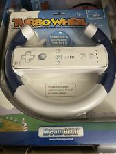 Wii U Steering Wheel for Mario Kart Brand New Factory Sealed Blue Turbo Wheel