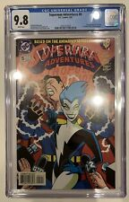 (1997) SUPERMAN ADVENTURES #5 CGC 9.8 WP! 1ST Appearance LIVEWIRE