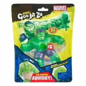 BRAND NEW Heroes of Goo Jit Zu MARVEL HULK Action Figure Super Squishy 2020