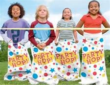 6 x Hüpfsack Sackhüpfen Kindergeburtstag Kartoffelsack Party Kinderparty
