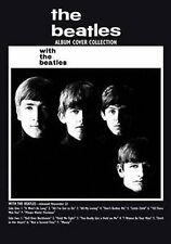 With The Beatles Album Cover Postcard Fan Gift Idea 100% Official Merchandise
