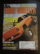 Four Wheeler Magazine June 2003 Cheap Power Ford F-150 Suspension Test (Y4)