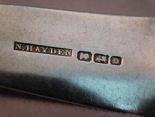Charleston, S.C. N. Hayden silver maker pre-civil war forks