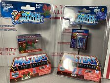 Worlds Smallest MOTU Skeletor Battle Cat Masters Of The Universe Micro Tiny VHTF