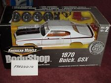 ERTL 1970 BUICK GSX BODY SHOP ASSEMBLY MODEL KIT 1/18 VHTF WHITE
