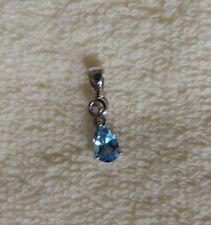 Schweizblauer Topas-Silberanhänger (v.Juwelo)