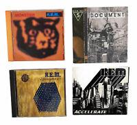 R.E.M. CD Lot Of 4: Monster, Document, Accelerate, & eponymous- Alternative Rock
