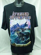 A7X Avenged Sevenfold Australian 2014 Tour T shirt  Size 2XL   T3E