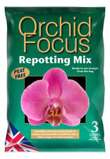 Growth Technology Orchid Focus Repotting Compost Mix 3L Growing Nutritious Peat