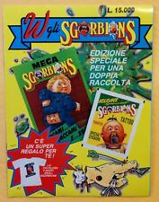 GPK ITALY: SGORBIONS STICKER ALBUM (UNUSED) Book & 1 PACK & LOT of 16 STICKERS