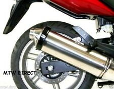 MOTORCYCLE R&G RACING  Oval Exhaust Protector (Can Cover) IN BLACK