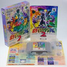 Pokemon Stadium 2 N64 Nintendo 64 Japan Import Complete Very RARE !!