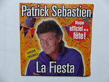 CD Single PATRICK SEBASTIEN La fiesta 731456972220