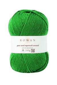 Rowan Pure Wool Superwash Worsted -  VARIOUS SHADES - 100g balls RRP £8.25!