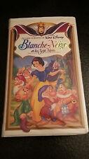 Disney VHS Blanche-Neige et les Sept Nains Snow White Seven Dwarfs French