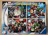 Ravensburger Marvel Avengers Assemble Bumper Puzzle Pack - 4 x 100 piece Age 6+