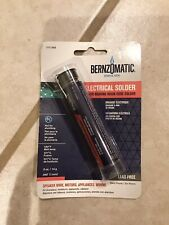 Electrical Solder Silver Bearing Rosin Core Lead Free 040 Bernzomatic Src050