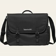 TIMBERLAND A1LHM-001 CROFTON BLACK WATER RESISTANT MESSENGER BAG $60.