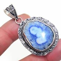 Solar Quartz  Ethnic Jewelry Handmade Antique Design Pendant BP-989